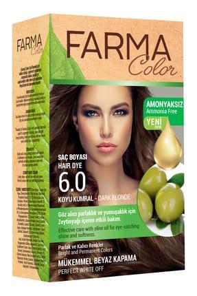 Farmasi Farmacolor Saç Boyası 6.0 Koyu Kumral 8690131113070