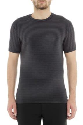 Emporio Armani Antrasit Erkek T-Shirt 3G1TD9 1J65Z F604