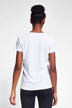 Lescon Beyaz Kadın T-shirt 20s-2204-20n