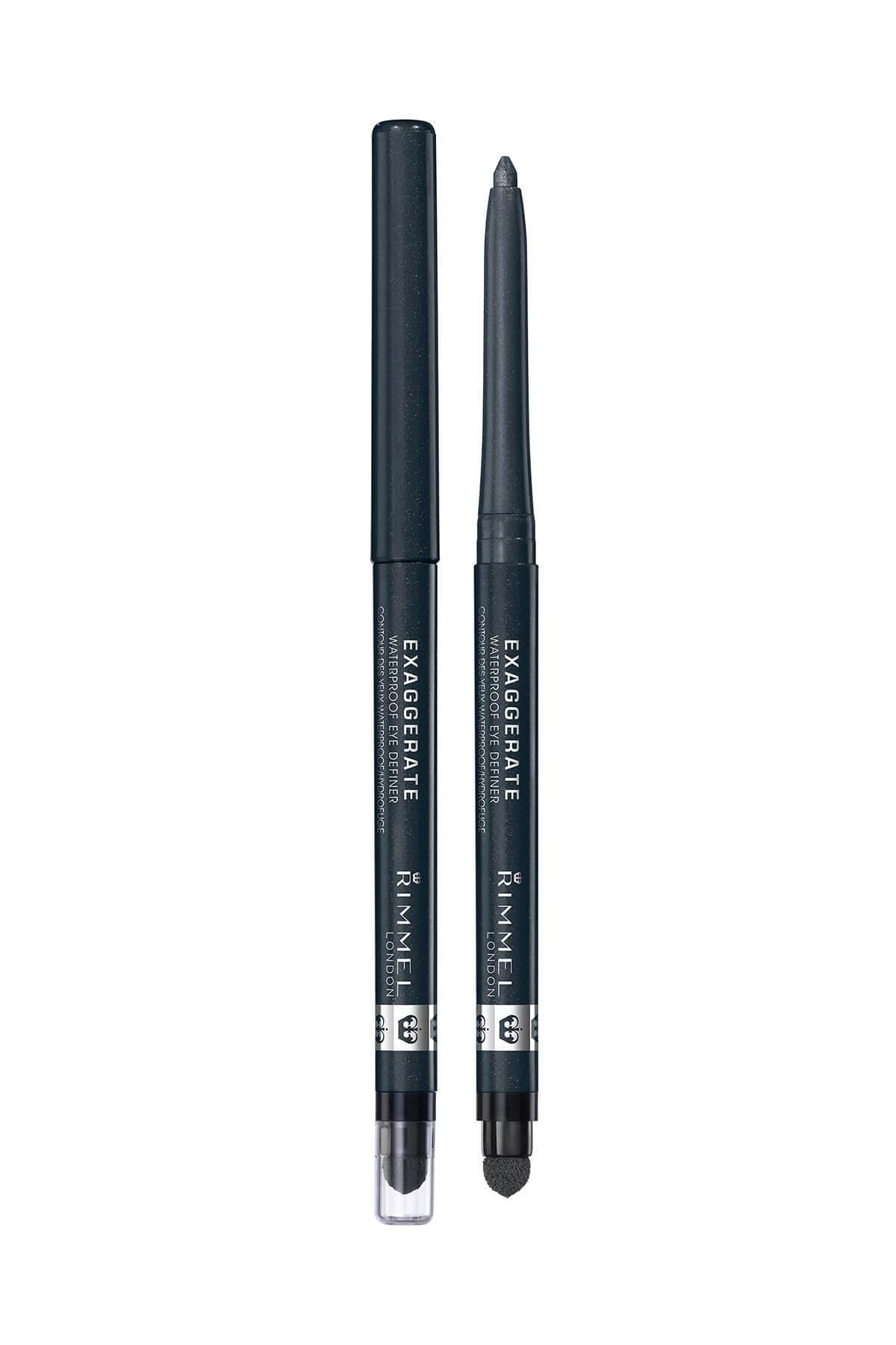 RIMMEL LONDON Eyeliner - Exaggerate Waterproof Eye Definer Earl Grey 3607347887102 2