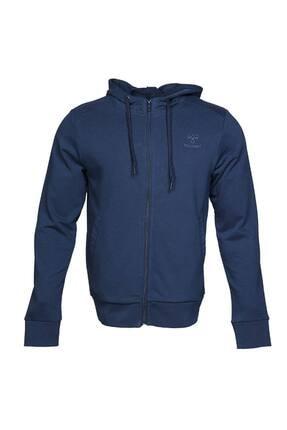 HUMMEL Erkek Lacivert Spor Sweatshirt 920793 Hmlbrınos Zıp Hoodıe