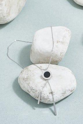 ZİNDİ Kadın Zincirli Kolye Gümüş Rengi K-3051022-040