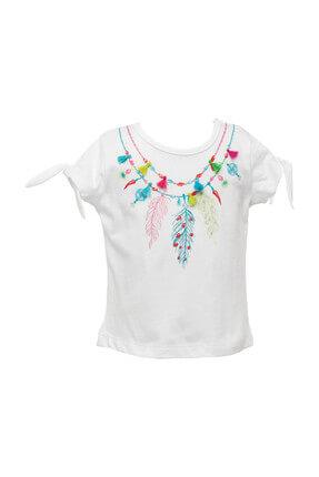 Zeyland Beyaz Kız Bebek T-Shirt 81Z2HNT54