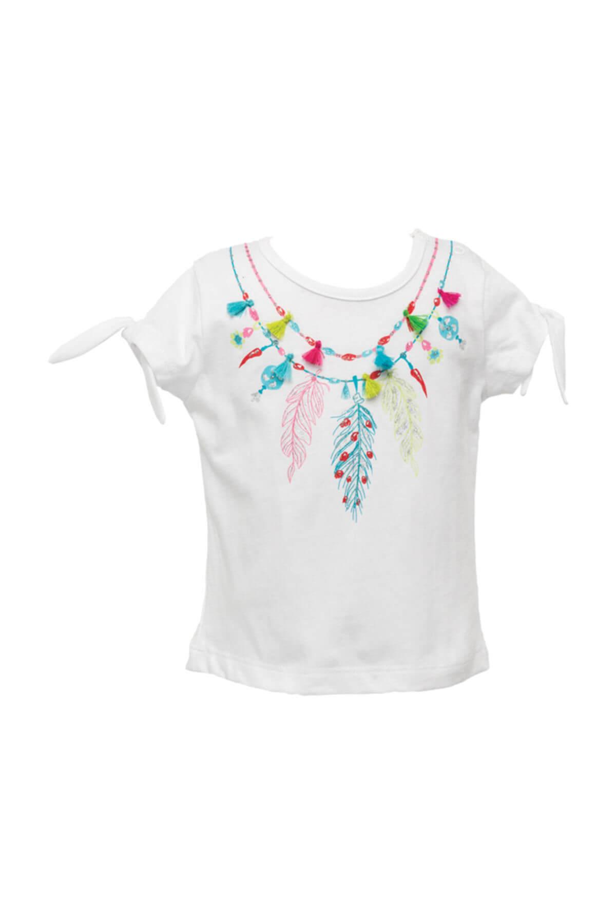 Zeyland Beyaz Kız Bebek T-Shirt 81Z2HNT54 1