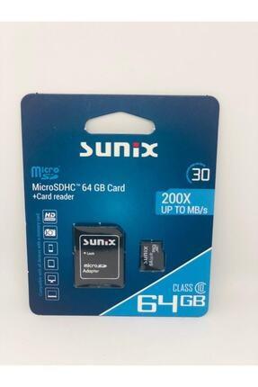 Sunix Sunıx 64gb Hafıza Kartı 200x Up To Mb/s
