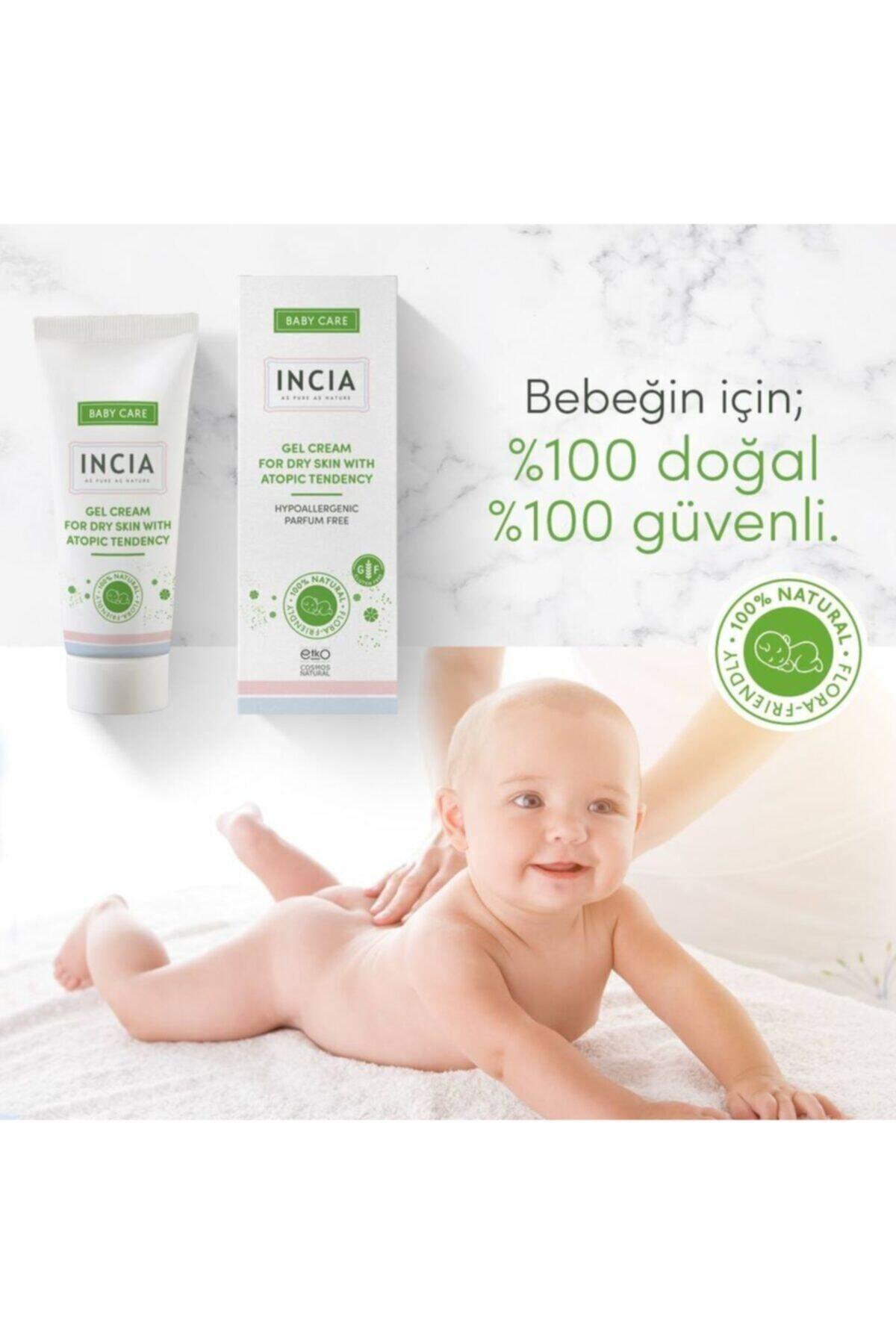 Incia Doğal Yağlar Içeren Bebekler Için Atopik Jel Krem 50 ml 2