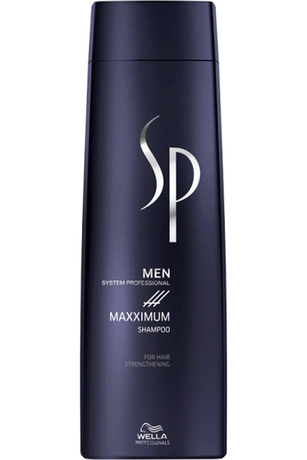 Wella Sp Men Maxximum Dökülme Önleyici Şampuan 250ml 1
