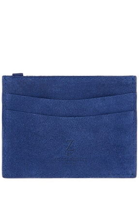 Accessorize Kadın Mavi Süet Kartlık