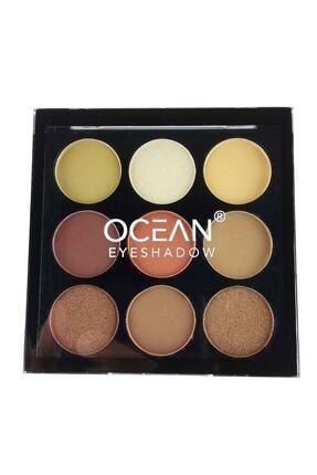 Ocean 9'lu Göz Farı Paleti No : 1 6905125126694