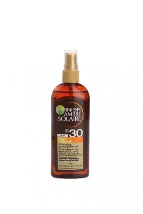 Garnier Ambre Solaire Golden Touch Bronzlaştırıcı Yağ Spray Spf 30 150 Ml