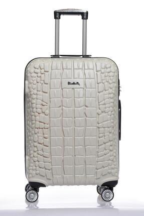 Pierre Cardin Pıerre Cardın 04pc1600-02-by Beyaz Unısex Orta Boy Bavul