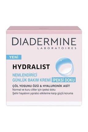 Diadermine Hydralist Nemlendirici Günlük Bakım Kremi Ipeksi Doku 50 ml