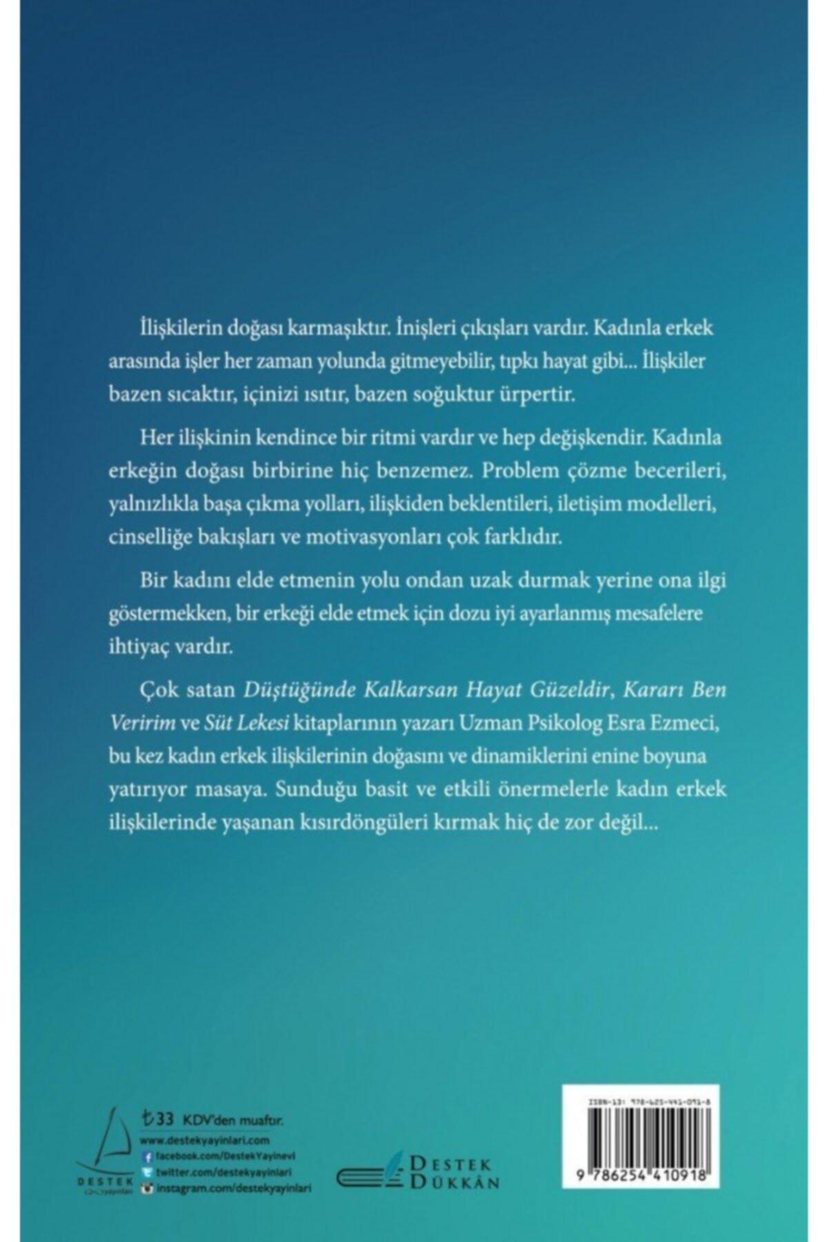 Destek Yayınları Kadınlar Sıcak Erkekler Soğuk Sever - Esra Ezmeci 2