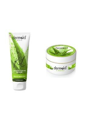 Dermokil Natural El ve Yüz Bakım Kremi Aloe Vera 75 ml + 300 ml