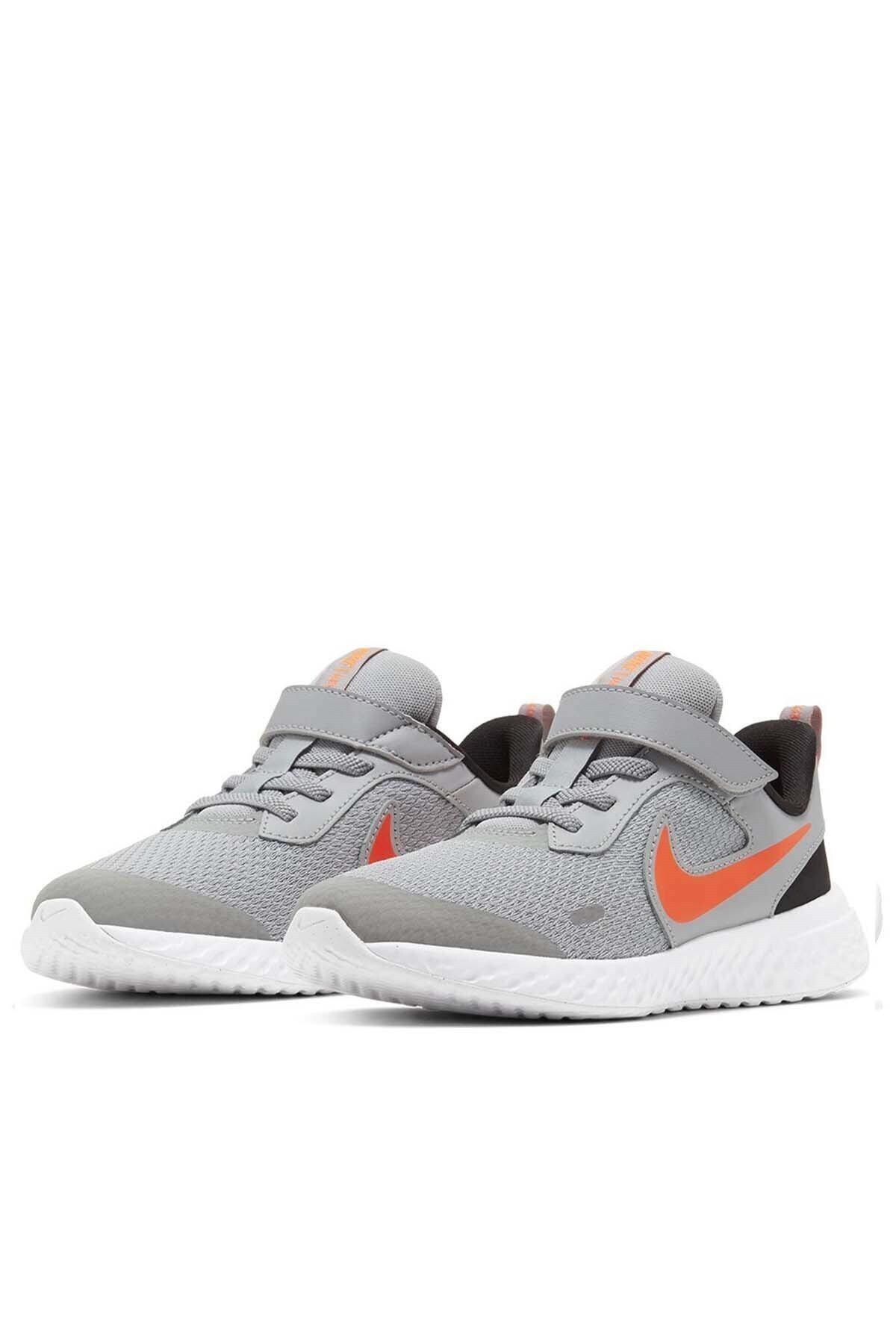 Nike Unisex Çocuk Gri Yürüyüş Koşu Ayakkabı Bq5672-007 Revolutıon 5 Psv 2