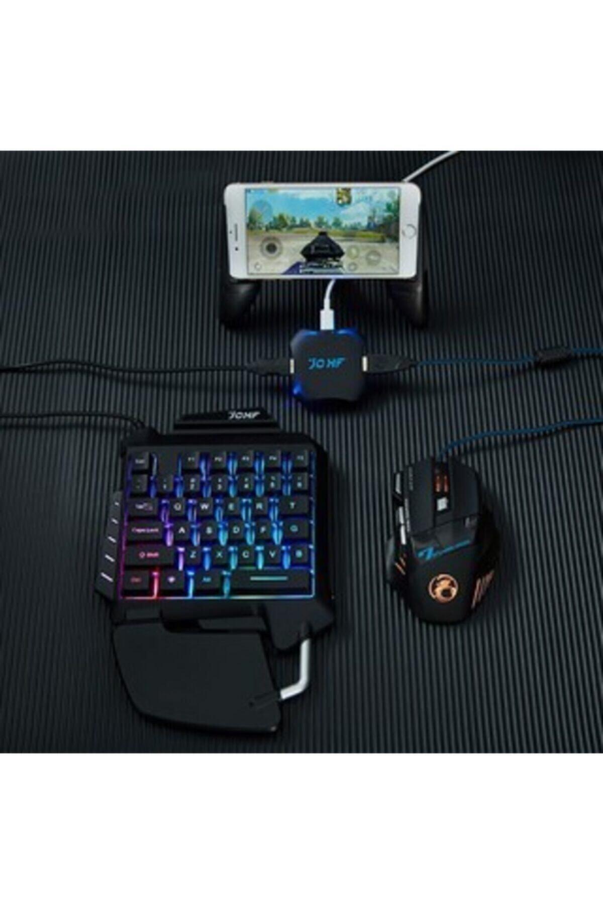 Gate Pubg Oyun Konsolu 3in1-klavye Mouse Bağlayıcı 3 Lü Set Mükemmel Kontrol Pubg Anlaşmalı Pubgset 1