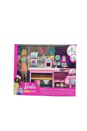 Koza - Oyuncak Market Barbie Bebek Pasta Dükkanı Oyun Seti