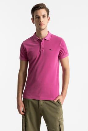 Ltb Erkek  Pembe Polo Yaka T-Shirt 012198454160890000
