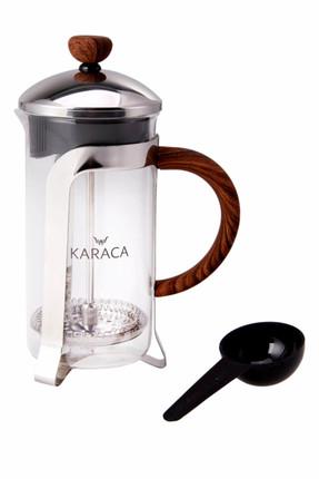Karaca Coffee Bean French Press Wooden 350 Ml