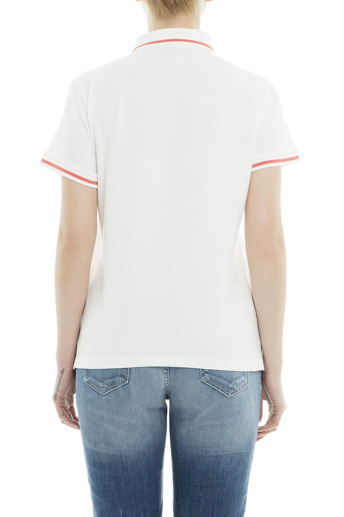 Emporio Armani Kadın Beyaz T-Shirt 3G2M61 2JBXZ 0101 2
