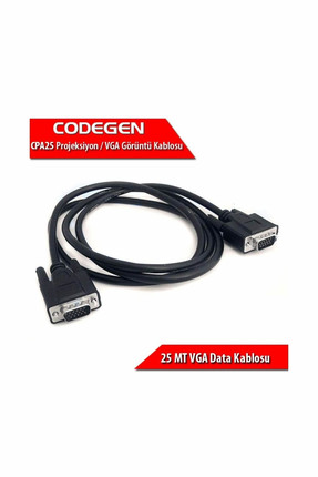 CODEGEN CPA25 25 Metre M/M Monitör VGA Data Kablosu