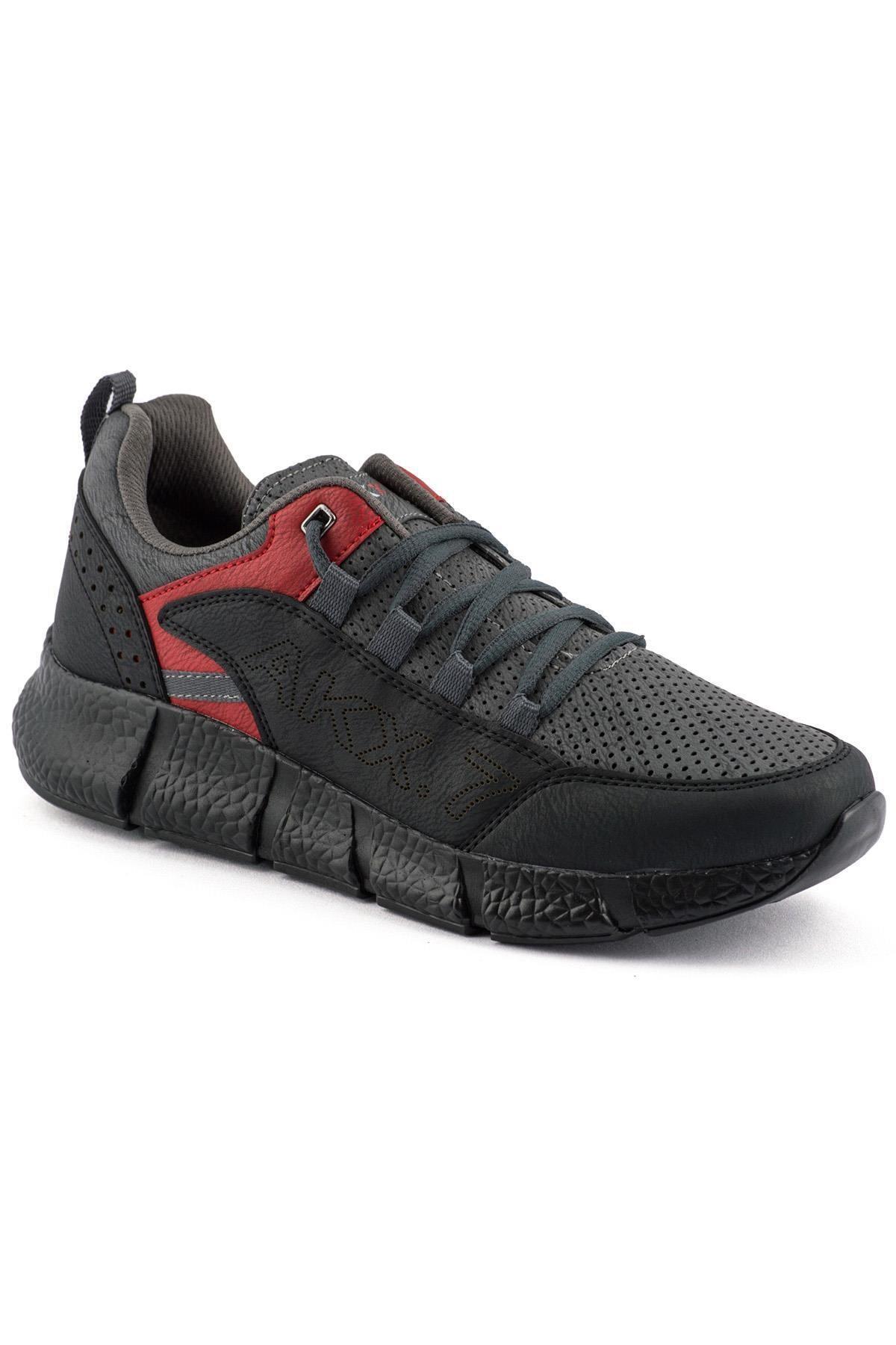 L.A Polo 021 Füme Siyah Erkek Spor Ayakkabı 1
