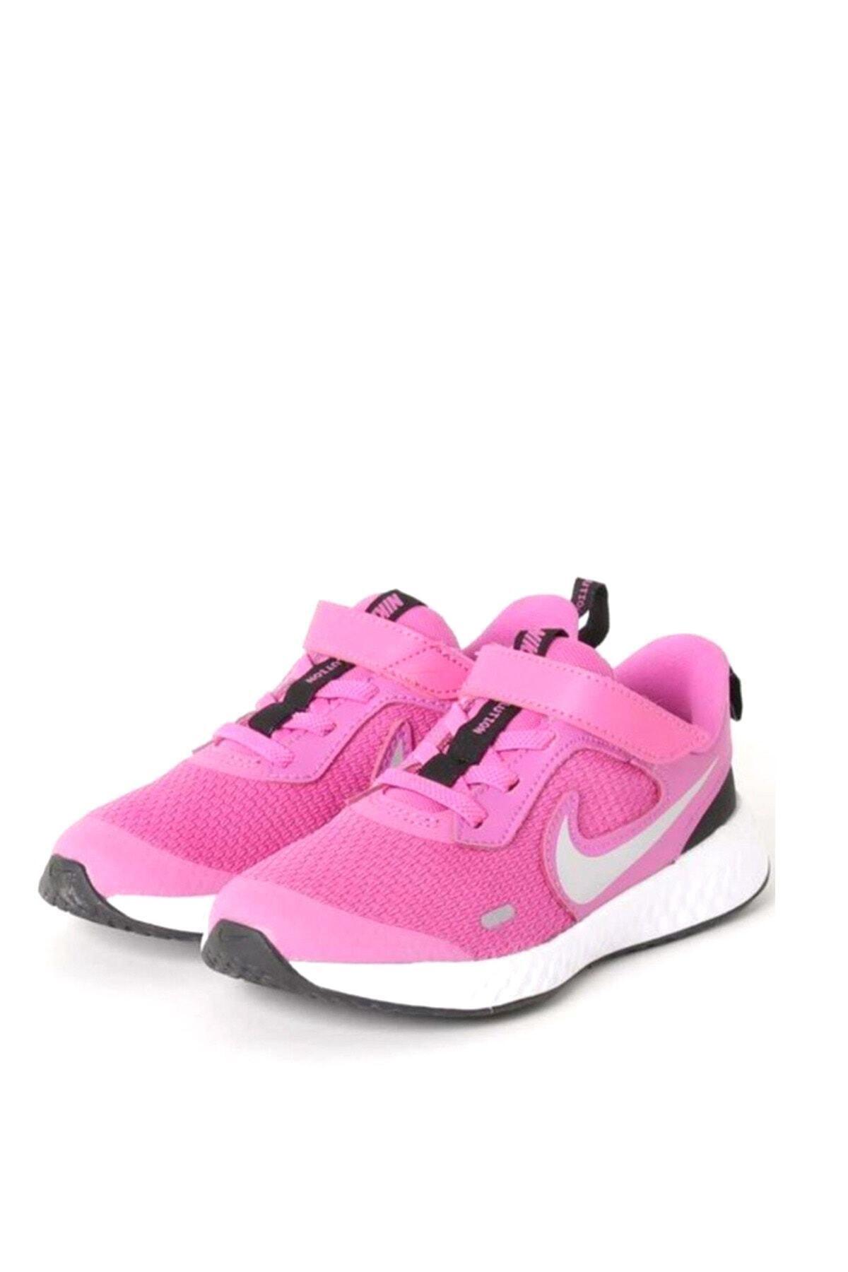 Nike Kids Kız Çocuk Pembe Koşu Ayakkabı Bq5672-610 2