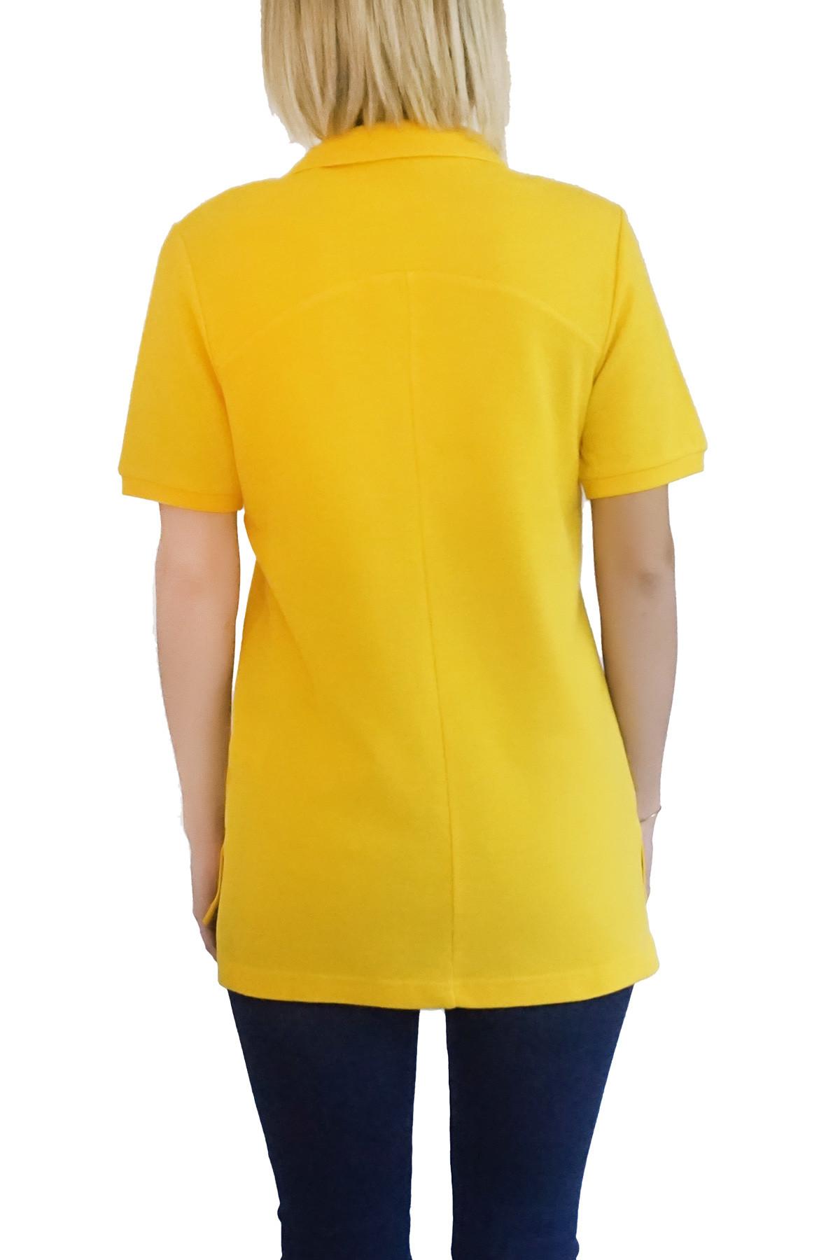 MOF Kadın Sarı T-Shirt POLO-F-SA 2