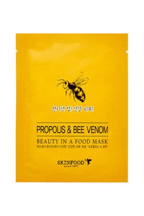 Skinfood Tek Kullanımlık Yüz Maskesi Propilis&Bee Venom 18 ml 8809427862251