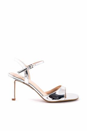 Tanca Kadın Lame Klasik Topuklu Ayakkabı  181Tck456 208