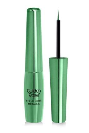 Golden Rose Metallic Eyeliner - Style Liner Metallic Eyeliner No: 04 8691190170042