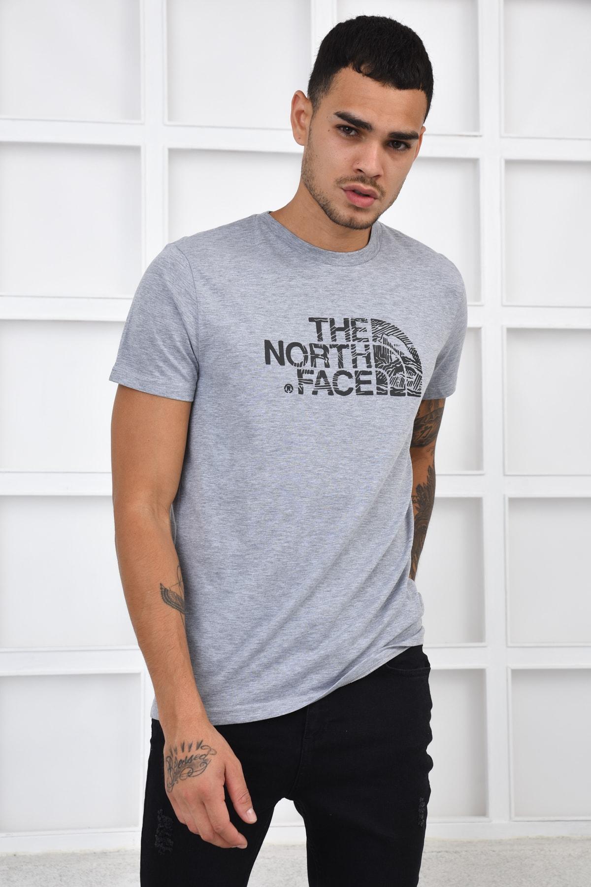 THE NORTH FACE Erkek T-shirt - Gri 2