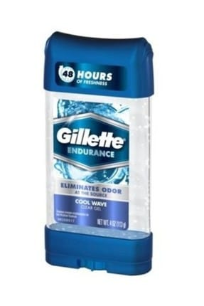 Gillette Endurance Elımınates Odor Cool Wave Gel Deodorant 107 g 47400097728