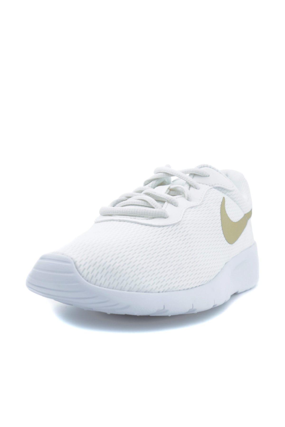 Nike Kids Nike 818381-100 TANJUN Kadın Beyaz Günlük Ayakkabı 2