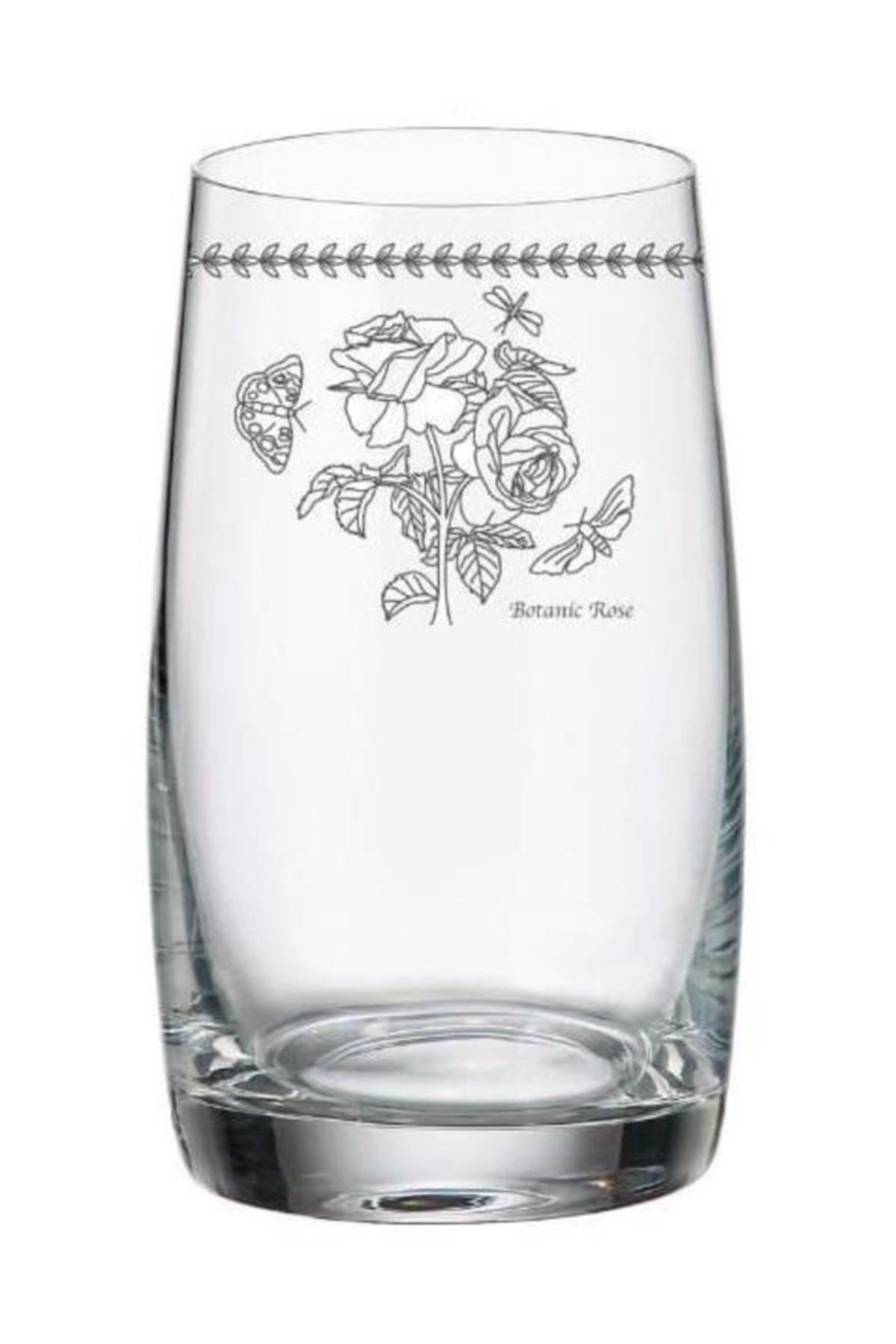 çerçi Bohemia Çiçek Desen 6 Lı Su Bardak Bhm03-Ç 1