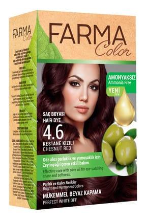 Farmasi Farmacolor Saç Boyası 4.6 Kestane Kızılı 8690131113162