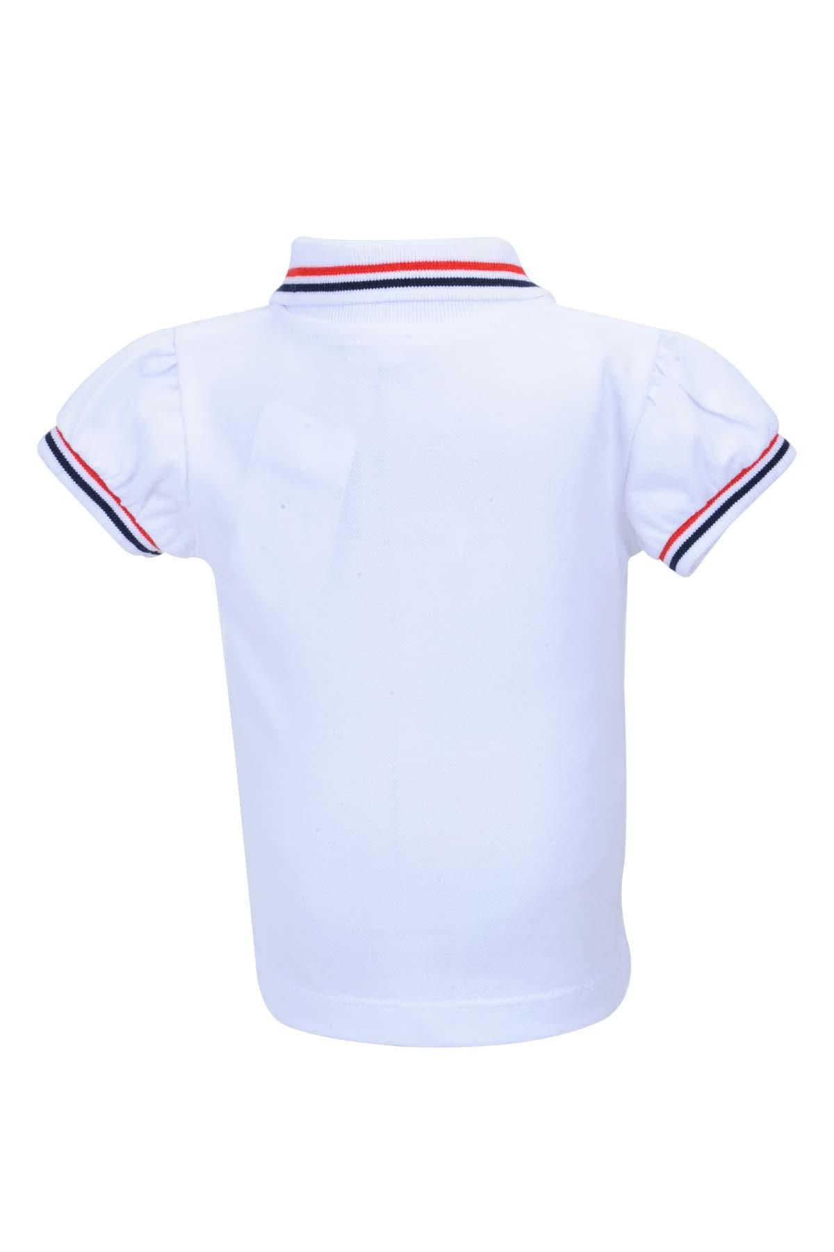 Zeyland Beyaz Kız Bebek T-Shirt 71M2MRE53 2