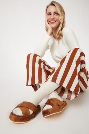 Happiness İst. Kadın Kiremit Desenli Viskon Pijama Altı BH00333