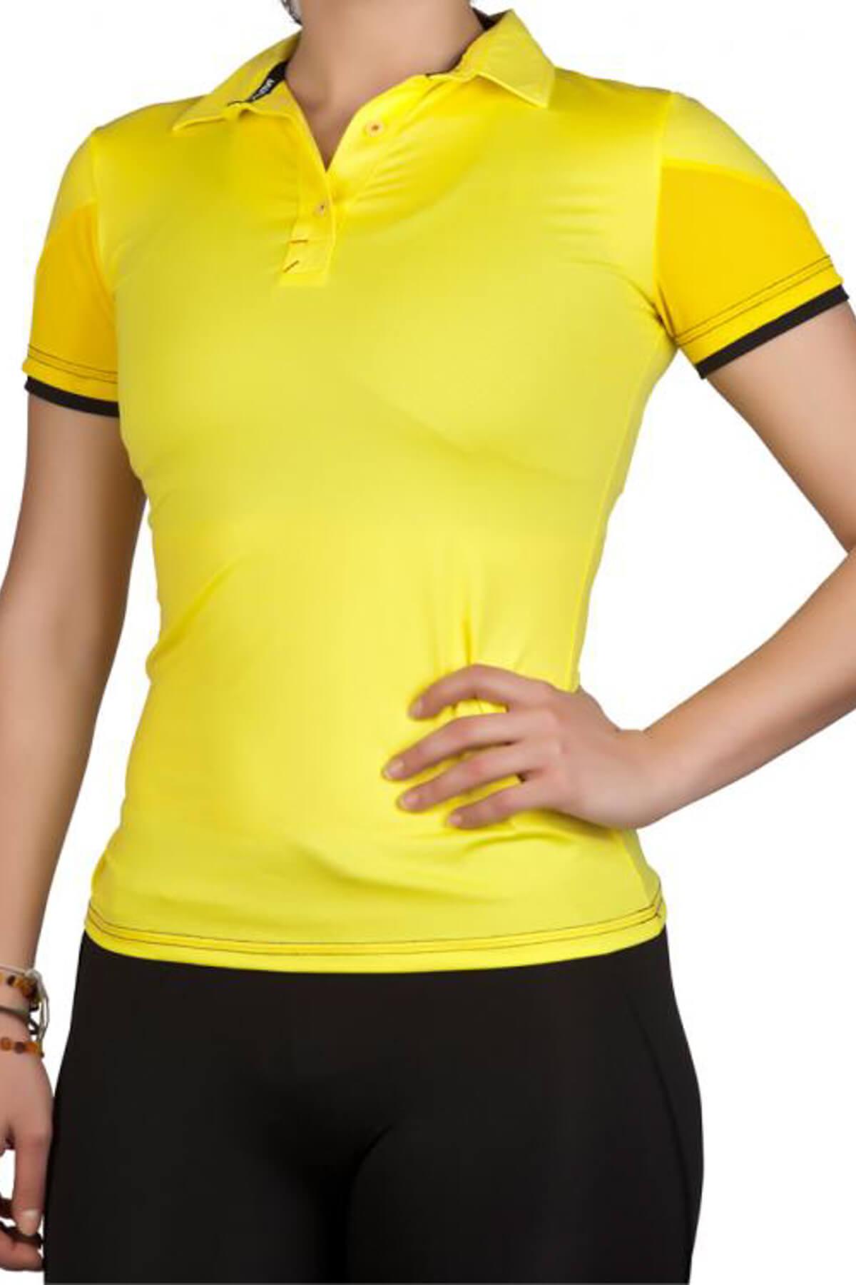 Exuma Kadın T-Shirt - Lime Spor T-Shirt - 172204 1