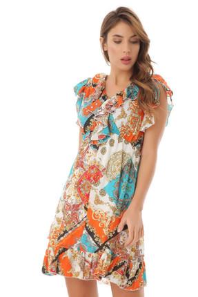 SERPİL Kadın Turuncu Elbise 12Y0416515