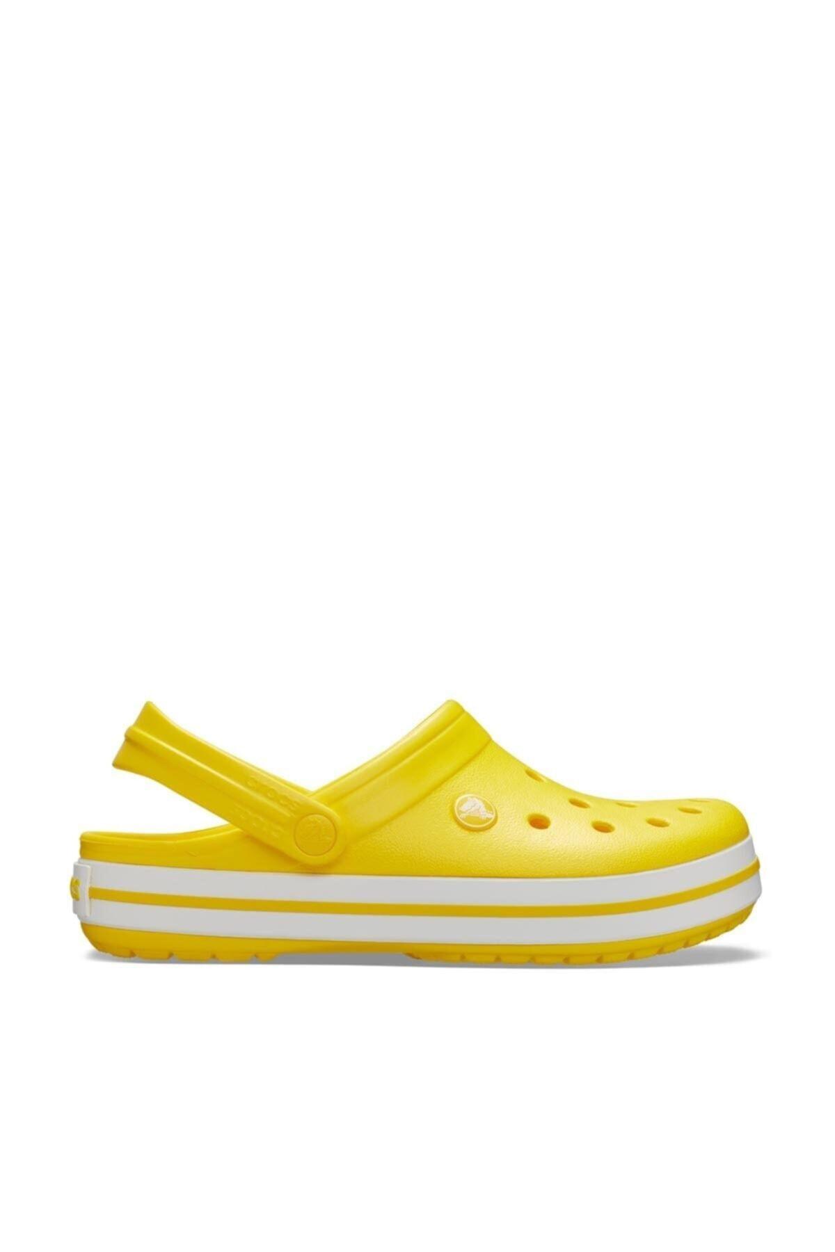 Crocs Sarı Beyaz Terlik 1