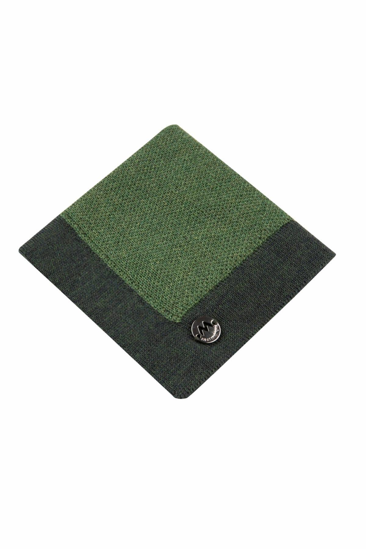 Hemington Erkek Yosun Yeşili  Merino Yün Mendil  - 184951030 1