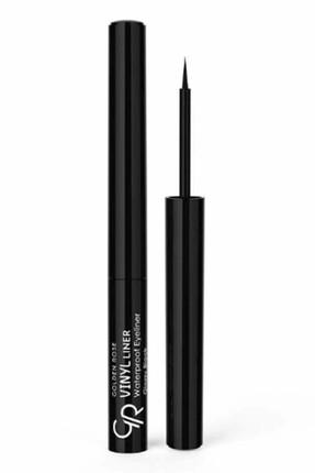 Golden Rose Suya Dayanıklı Siyah Eyeliner - Vinyl Liner Waterproof Glossy Black 8691190965778
