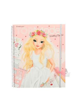 Top Model Wedding Boyama Kitabı 6597  /
