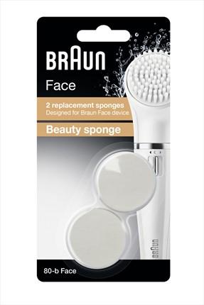 Braun Face Yüz Temizleme Cihazı Yedek Fırça Başlığı 2'Li Paket Se80-B 4210201120940