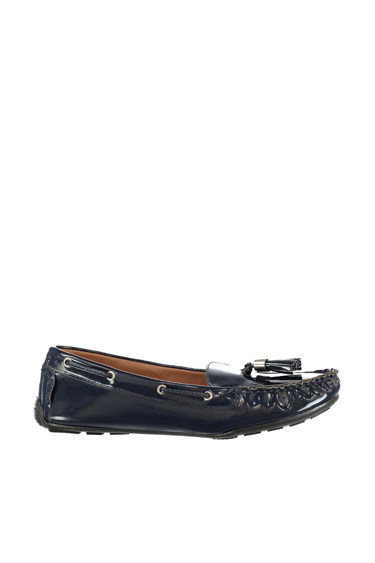 Derimod Lacivert Kadın Loafer Ayakkabı 2