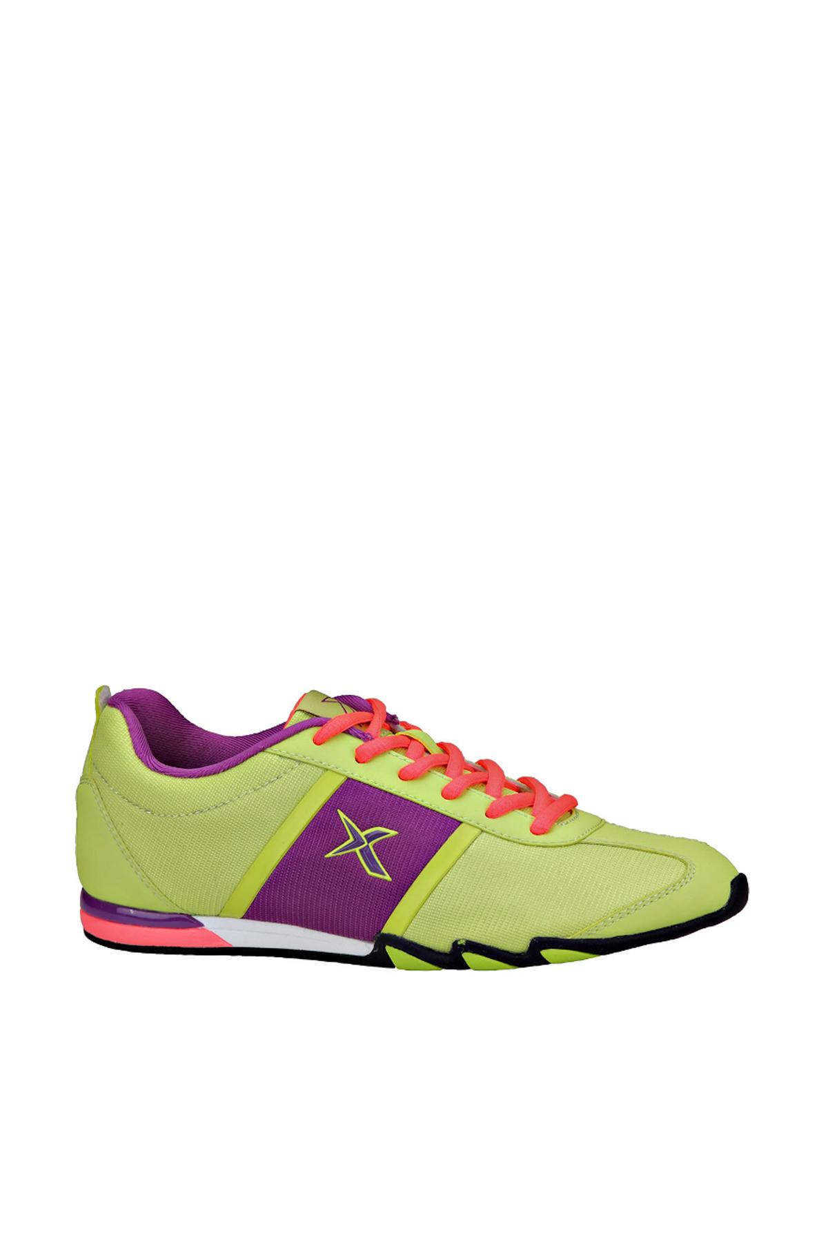 Kinetix 1235371 Yeşil Mor Pembe Kadın Fitness Ayakkabısı 100180970 1