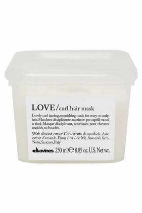 Davines Kıvırcık Saçlar için Bukle Belirgenliştirici Maske - Love Curl Hair Mask 250 ml 250 ml 8004608257158