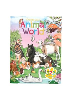 Top Model Animal World Boyama