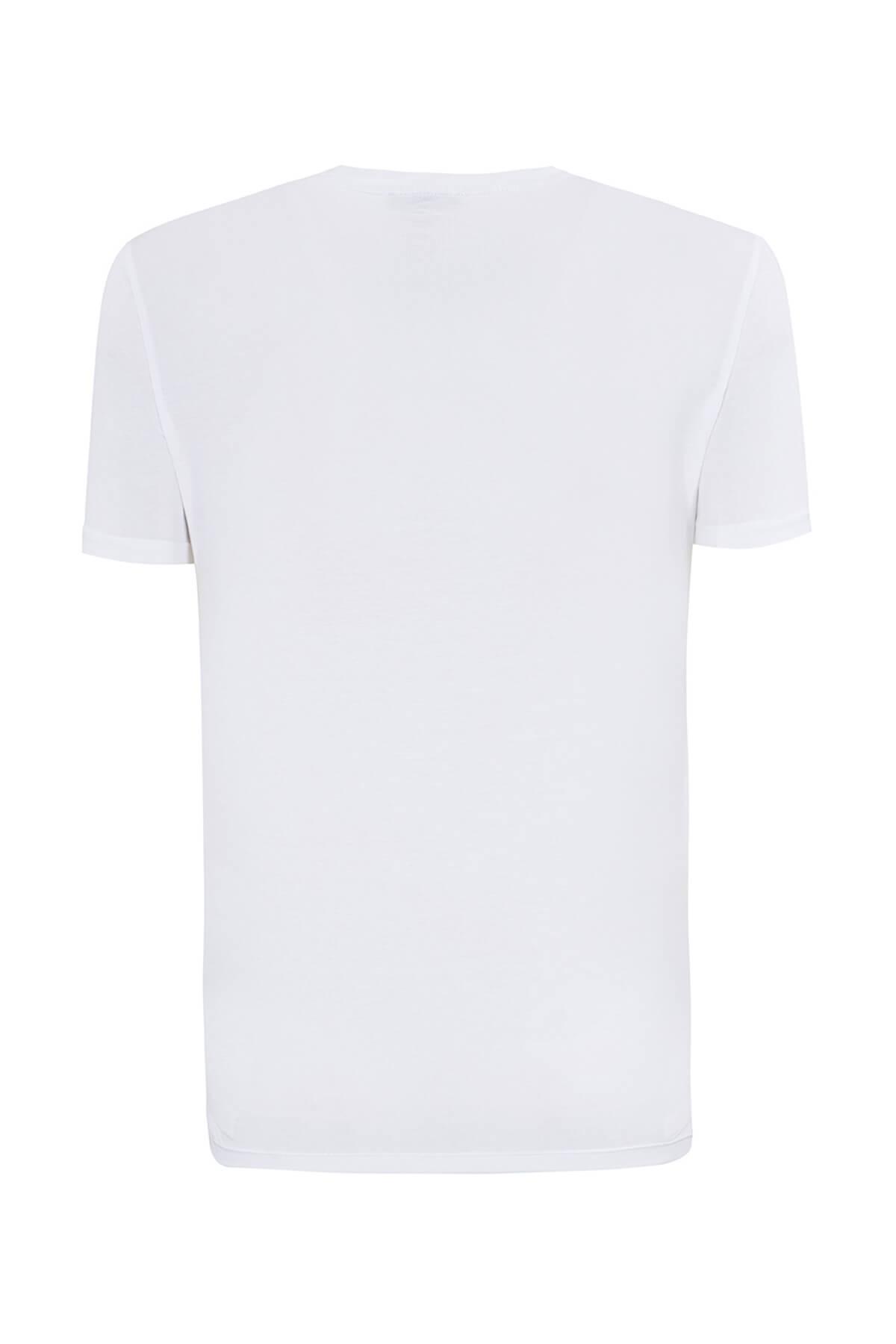 Emporio Armani Beyaz Kadın T-Shirt 2